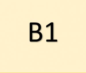 Certyfikaty językowe - poziom B1 języka angielskiego