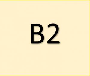 Certyfikaty językowe - poziom B2 języka angielskiego