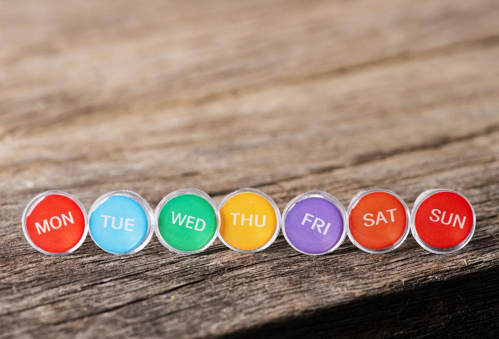 dni tygodnia w angielskim