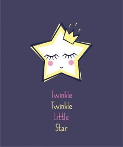 """Piosenka dla dzieci po angielsku - kołysanka """"Twinkle Twinkle Little Star"""""""