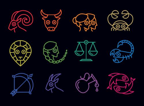 znaki zodiaku po angielsku