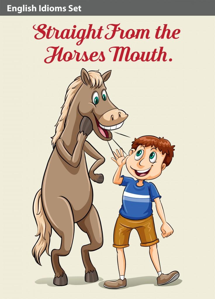 angielskie zwroty ze słowem horse
